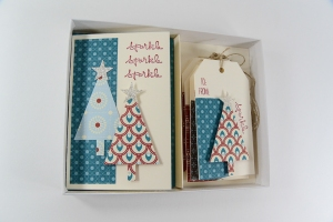 Indigo Tree Card Pack-4