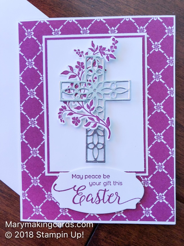 Hold on to hope mary making cards here are two very different cards i made from the set the first one is for easter and features a sentiment from the suite sentiments stamp set retired negle Image collections
